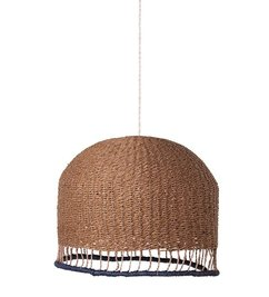 ferm LIVING Lampenkap Braided  - Rose