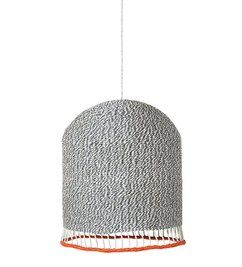 ferm LIVING Braided lampshade - Light grey