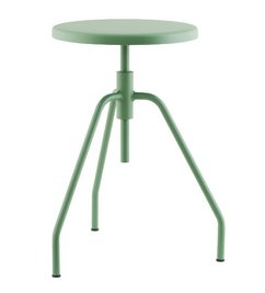 House Doctor Stool SCARPA - Green