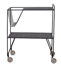 House Doctor Trolley USE - Black