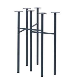 ferm LIVING Mingle Trestles W48 - Dark Blue (Set of 2)