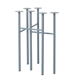 ferm LIVING Mingle Trestles W48 - Dusty Blue (Set of 2)