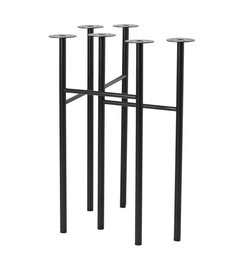 ferm LIVING Mingle Trestles W48 - Black (Set of 2)