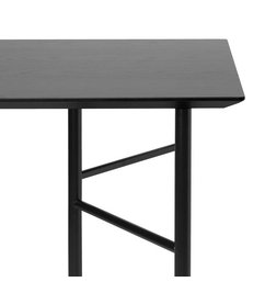 ferm LIVING Mingle Desk Top 135 cm - Veneer - Black