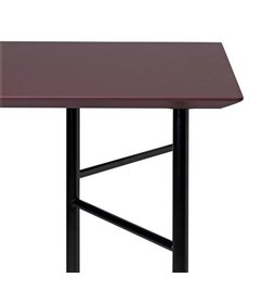 ferm LIVING Mingle Desk Top 135 cm - Linoleum - Bordeaux