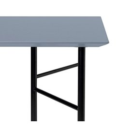 ferm LIVING Mingle Desk Top 135 cm - Linoleum - Dusty Blue