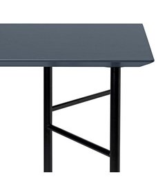 ferm LIVING Mingle Desk Top 135 cm - Linoleum - Charcoal