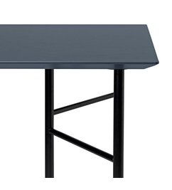 ferm LIVING Mingle Table Top 160 cm - Linoleum - Charcoal