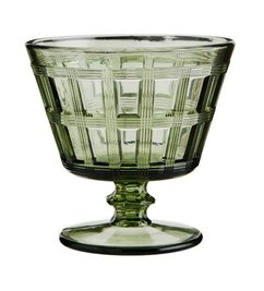 Madam Stoltz Cocktail glass green