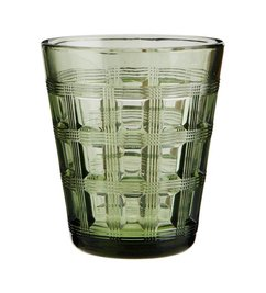 Madam Stoltz Drinking glass green