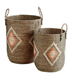 Madam Stoltz Baskets w/ handles