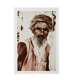 Madam Stoltz Print op canvas 'Old man'