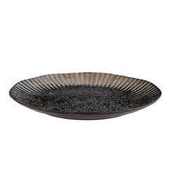 Madam Stoltz Dinnerplate black