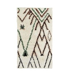 Madam Stoltz Rug wool and cotton - Multicolor