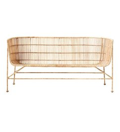 House Doctor Loungebank COON rattan