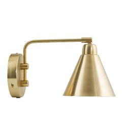 House Doctor Wandlamp GAME brass