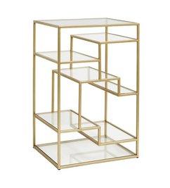 Nordal Glazen display kast goud