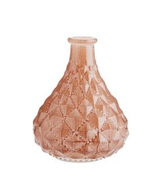 Madam Stoltz Glass bottle Shiny nude