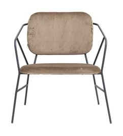 House Doctor Lounge chair KLEVER brown