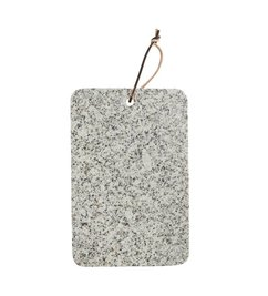 Madam Stoltz Granite chopping board - beige