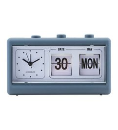 Monograph Alarm clock RETRO blue
