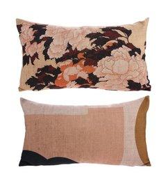 HK living  Cushion Tokyo with print (35x60)