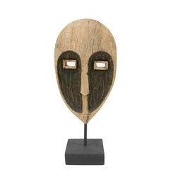 HK living  Wooden ornament Papua mask
