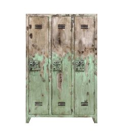 HK living  Locker mango wood - green