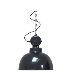 HK living  Hanglamp Factory - zwart (medium)
