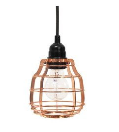 HK living  Lamp Lab (with plug) - copper