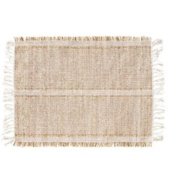 Madam Stoltz Seagrass placemat light grey - natural