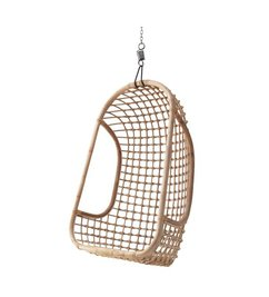 HK living  Hammock chair rattan - natural