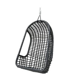 HK living  Hangstoel outdoor - zwart