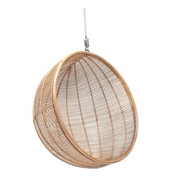 HK living  Hammock chair rattan ball - natural