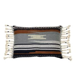 HK living  Cushion Aztec multicolor with fringes
