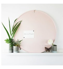 E|L by DEENS.NL Magnetic board Marie light pink - Copy