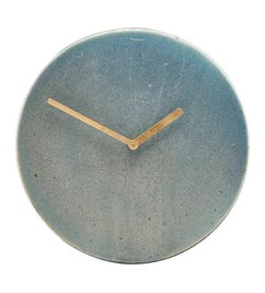 House Doctor Wall clock METRO grey - blue