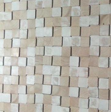 Wandpanele aus Holz Design QUADRINO / Verschiedene Abmessungen und Farben