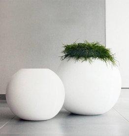 Vloervaas Design BALLO Kleur: Wit hoogglans / Verschillende afmetingen
