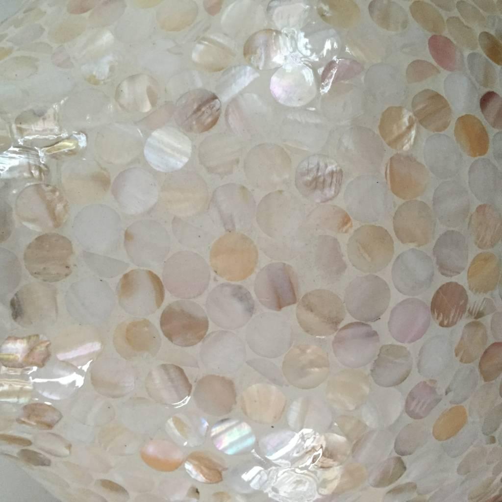 Bodenvase Design LUNGO Afwerking: Perlmutt/ Verschiedene Abmessungen