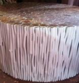 Houten salon tafel