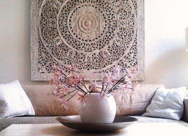 Wanddekoration aus Holz
