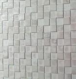 Wandpanele aus Holz Design QUADRINO PINE Kleur: Whitewash/ Verschiedene Abmessungen