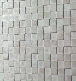 Houten wandpaneel Design QUADRINO PINE Kleur: Whitewash / Verschillende afmetingen