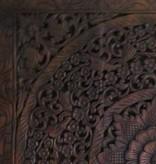 Geschnitzte Wandpanele Design LOTO Farbe: dunkelbraun, verschiedene Abmessungen