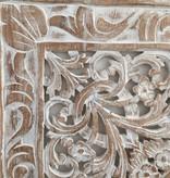 Houtsnijwerk wandpaneel Design LOTO Kleur: between white, verschillende afmetingen
