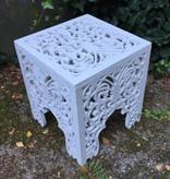Wooden side table ORIENTE