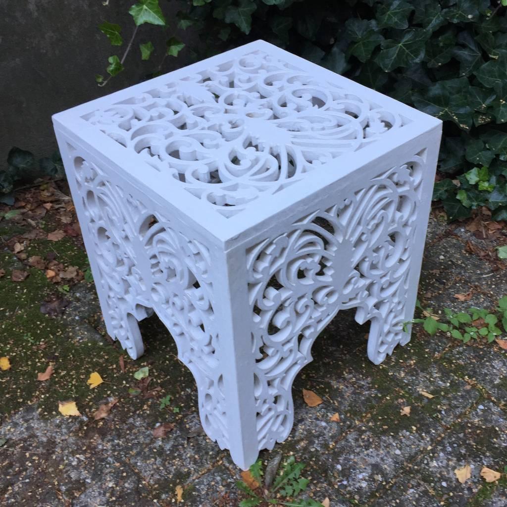 Geschnitzter Tisch Design ORIENTALE