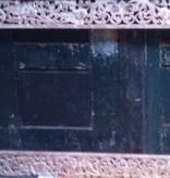 Handgeschnitzter Spiegelrahmen aus Teakholz, verschiedene Abmessungen und Farben