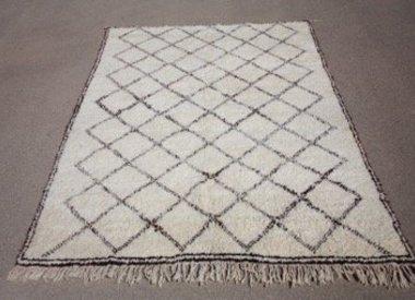 Beni Ourain tapijten